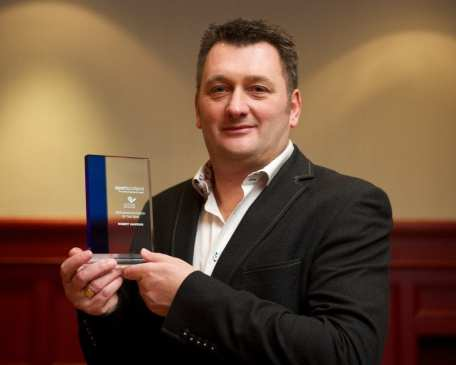 Robert Hawkins, Renfrewshire's Performance Coach of the Year
